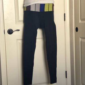 Lululemon Color block tights size 6